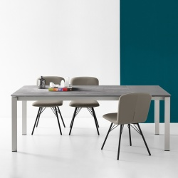 Connubia Calligaris Eminence Table Metal Legs - In Stock