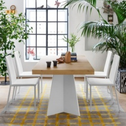 Connubia Calligaris Wings Wood Table