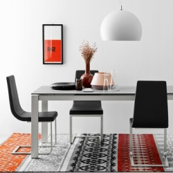 Connubia Calligaris Baron Ceramic Fixed Table