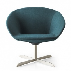 Calligaris Love Armchair Swivel Legs