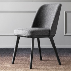 Calligaris Foyer Chair Wood Legs