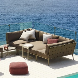 Cane-line Conic Lounge Sofa
