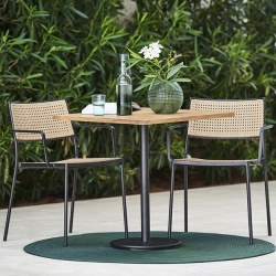 Cane-line Go Square Bistro Table