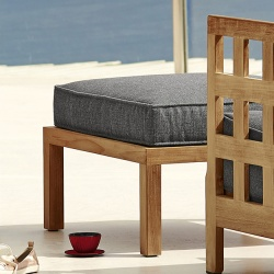 Cane-line Square Footstool