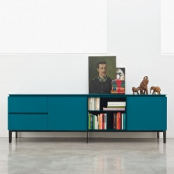 Bontempi Casa Cosmopolitan Large Wood Sideboard
