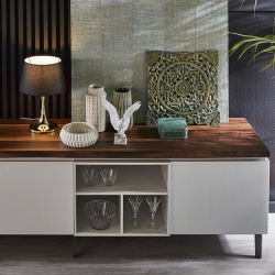 Bontempi Casa Cosmopolitan Medium Wood Sideboard