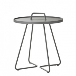 Ex-Display Cane-line On The Move Side Table - Large Light Grey