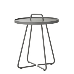 Ex-Display Cane-line On The Move Side Table - Small Light Grey