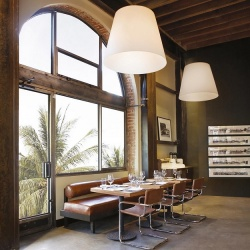 Fontana Arte Amax Suspension Light