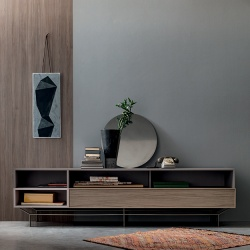 Grid Low Sideboard