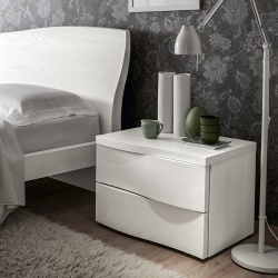 Wave Mix Bedside Table
