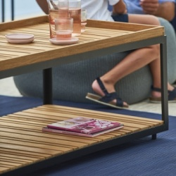 Cane-line Indoor Level Teak Coffee Table