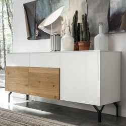 Modular Wood Mix Sideboard