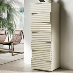 Pacini Cappellini Tiffany Tall Chest of Drawers