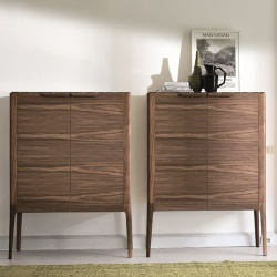 Porada Atlante Wood Storage Cupboard