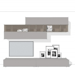 Linear Wall System Composition 003