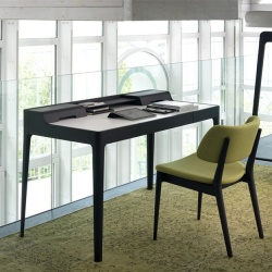 Porada Saffo Leather Desk