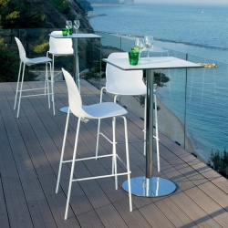Bontempi Casa April Outdoor Bar Stool