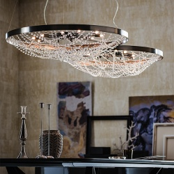 Cattelan Italia Cristal Suspension Light