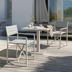 Manutti Cross Outdoor Dining Chair