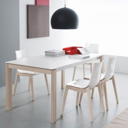 Connubia Calligaris Eminence Wood With Wood Legs Table