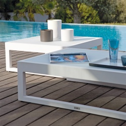 Manutti Fuse Outdoor Coffee Table / Footstool