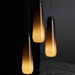 Diesel Foscarini Glass Drop Suspension Light