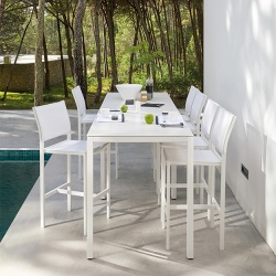 Manutti Helios Outdoor Bar Stool