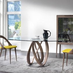 Porada Infinity Elliptical Table