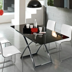 Calligaris Magic J Glass Table