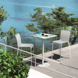 Bontempi Casa Net Outdoor Bar Stool