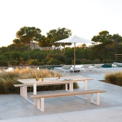 Manutti Prato Outdoor Bench