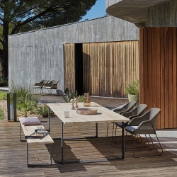 Manutti Prato Outdoor Dining Table
