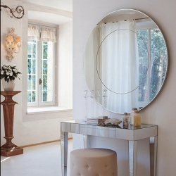 Porada Four Seasons Round Mirror