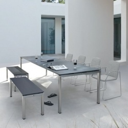 Manutti Trento Outdoor Bench