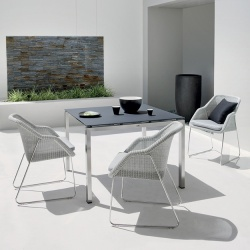 Manutti Trento Outdoor Square Dining Table