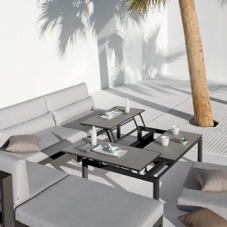 Manutti Trento Outdoor Tip-Up Coffee Table