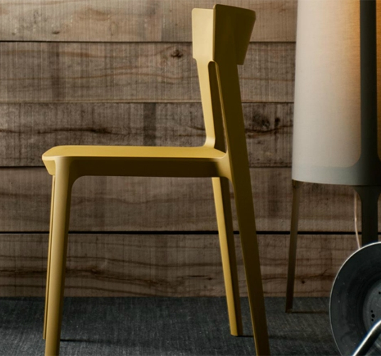 calligaris skin chair